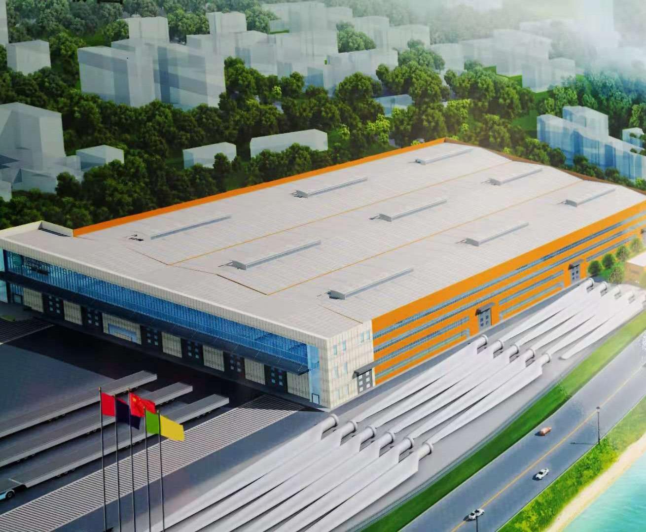 阳江高新区明阳风机装备制造叶片厂 中悬窗电动排烟窗