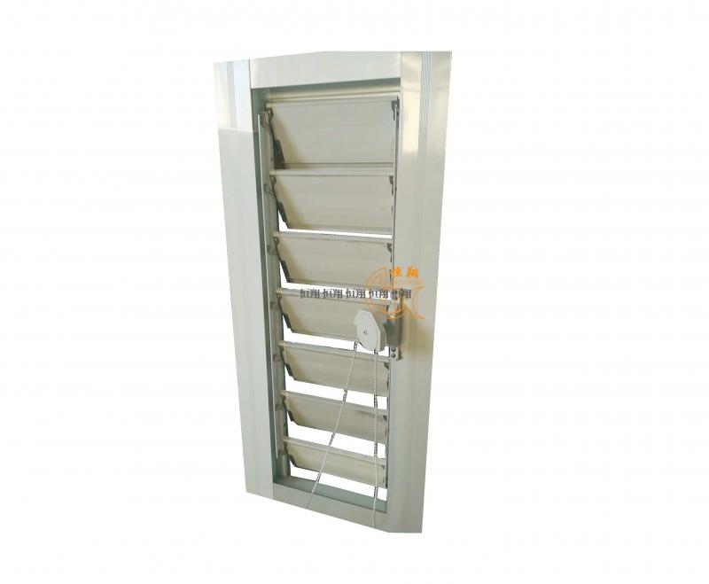 拉珠式铝合金百叶窗(一控一)